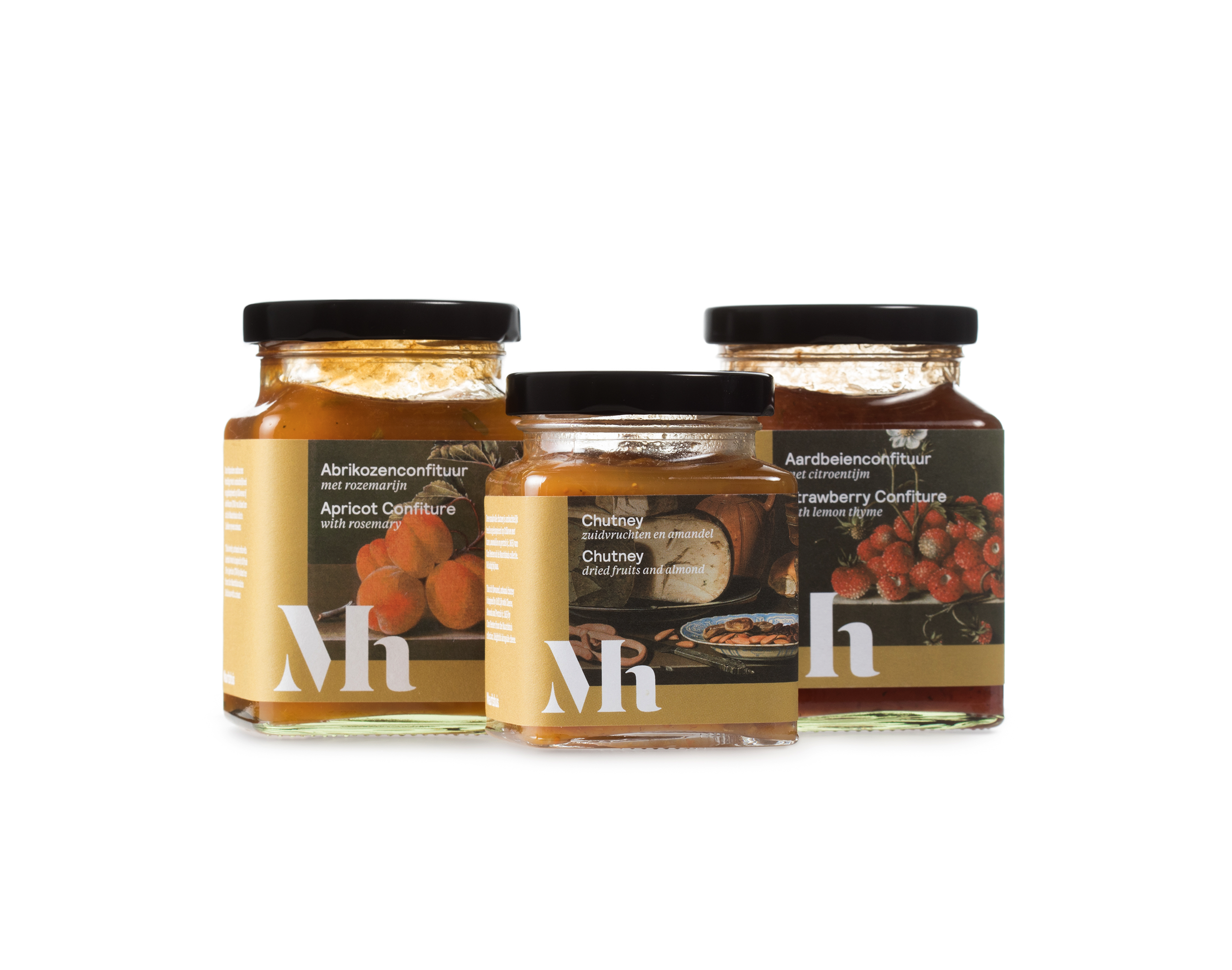 Mauritshuis delicatessen, food concept, verpakkingsontwerp, packaging design, branding